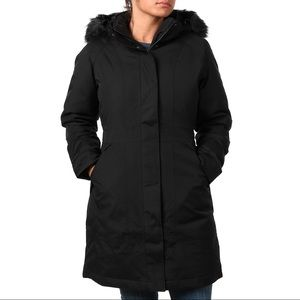 Women's Black North Face Artic Parka Medium